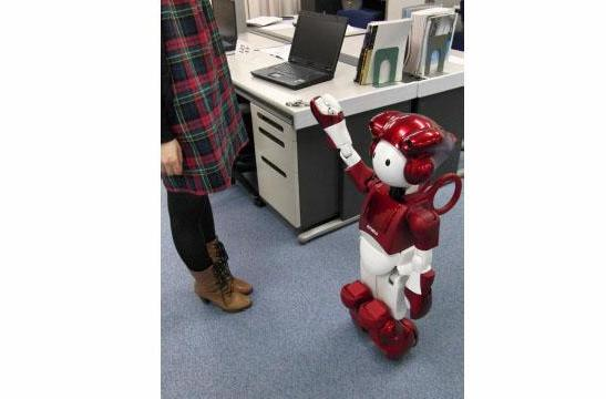 Japanese robot gets better at not running into people