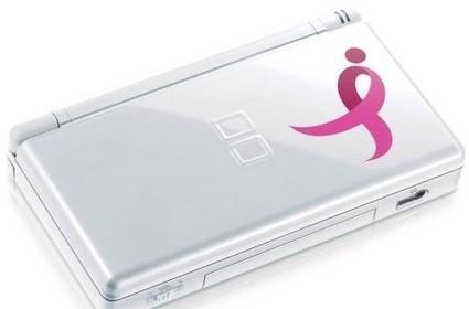 Nintendo fights breast cancer with DS Lite Limited Edition Pink Ribbon