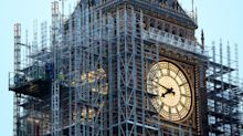 Big Ben bongs for the first time since New Year in test ahead of Remembrance Sunday