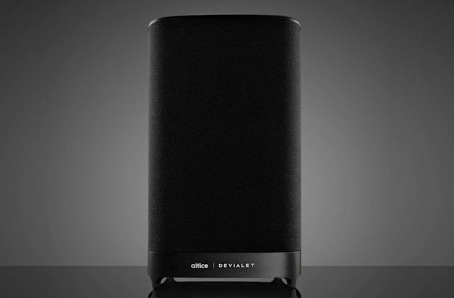 Altice's smart speaker uses Alexa to control your TV set-top box