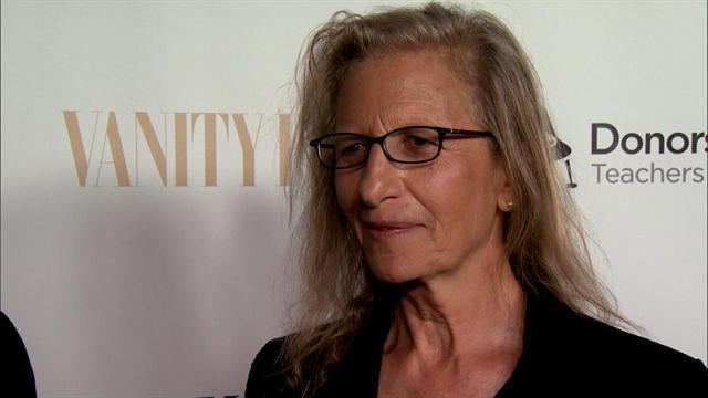 Star Snapper Annie Leibovitz Steals Spotlight