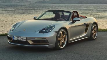 Porsche 入門小跑車 25 歲了!紀念版「Boxster 25」上市