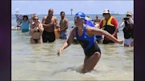Diana Nyad: Shark Cages Aren't Just For Protection?They're For Speed, Too