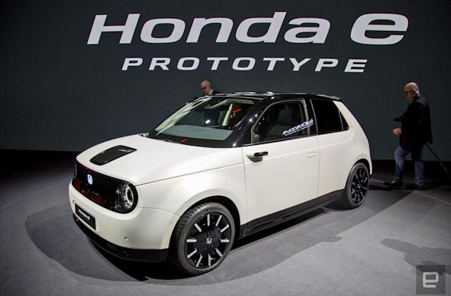 Honda wants all of its European cars to be hybrids or EVs by 2025
