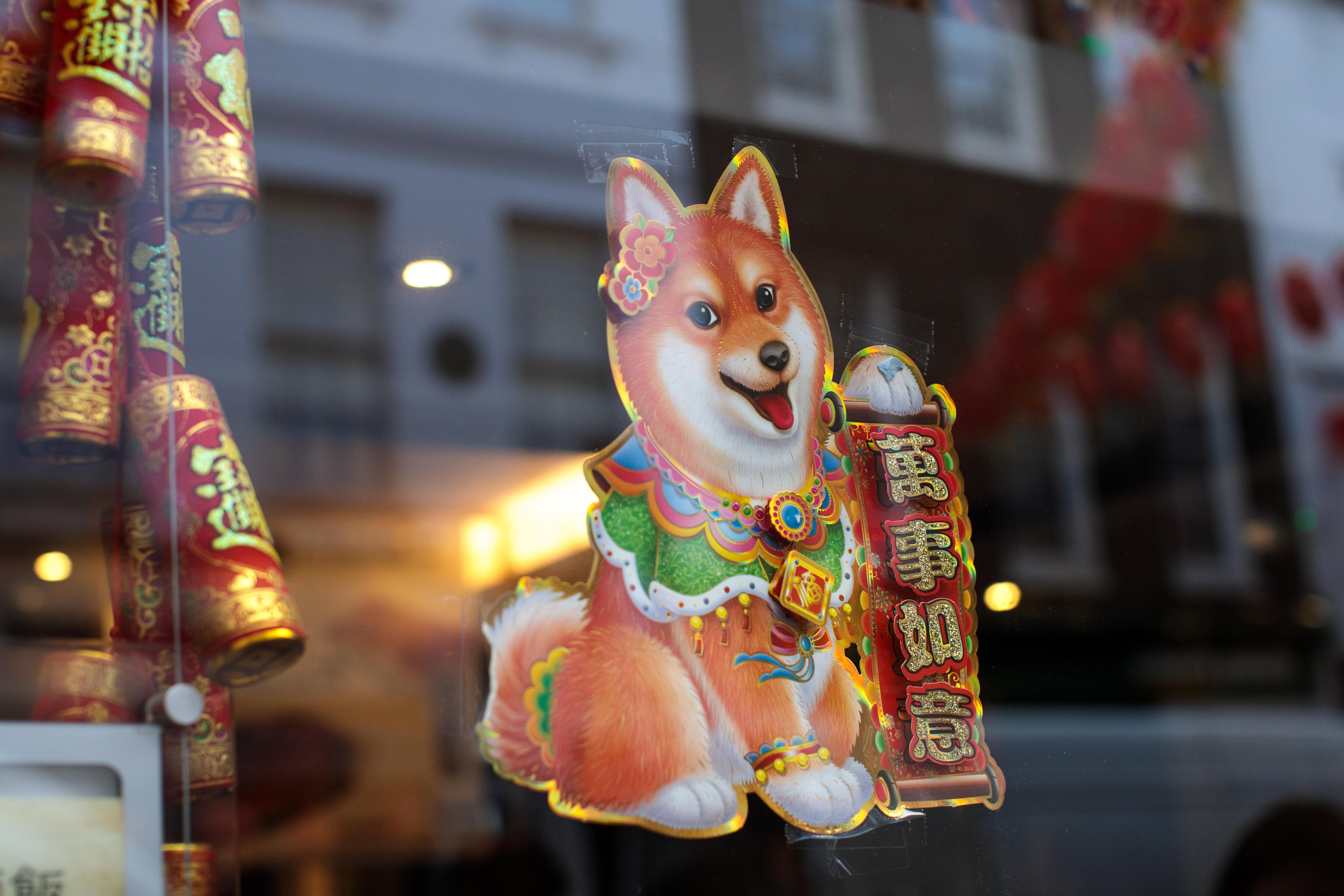 Chinese New Year 2018 Animal: Year of the Dog Zodiac Sign ...