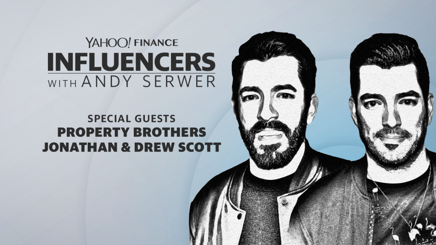 Property Brothers Jonathan and Drew Scott join Influencers with Andy Serwer