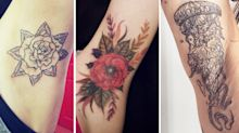 'Secret' armpit tattoos are the latest ink trend