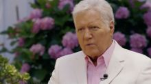 "Emotional Alex Trebek Gives Update On Cancer Battle, Reveals How He's Still Able To Host 'Jeopardy!': ""I'm Good At Faking It"""