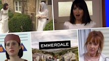 Next week on 'Emmerdale': Victoria receives bombshell news from Wendy, plus Aaron tries to rescue a gravely ill Liv (spoilers)