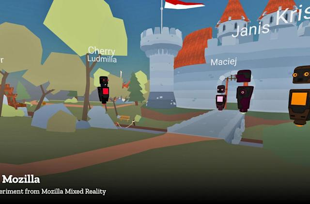 Mozilla's 'Hubs' is a VR chatroom for every headset and browser