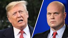 Contradicting himself, Trump denies knowing acting AG Matt Whitaker