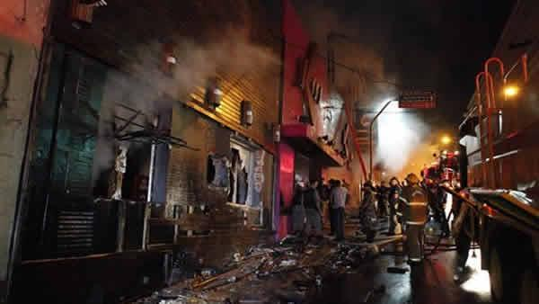 Brazil club fire kills over 230 people in smoke, stampede