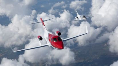 HondaJet, Honda's First Airplane Venture, Now For Sale in Southeast Asia