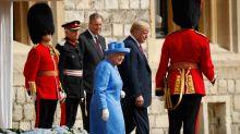 Royal-Expertin: Trump war bei Treffen mit der Queen nicht unhöflich