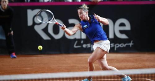 Tennis - Fed Cup - Pauline Parmentier : «Un super beau moment»