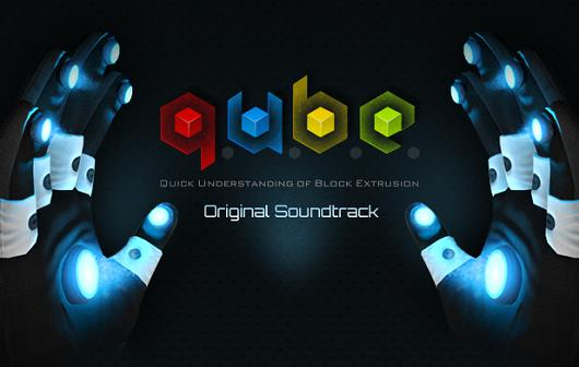Q.U.B.E. soundtrack, collector's edition dated and dubbed