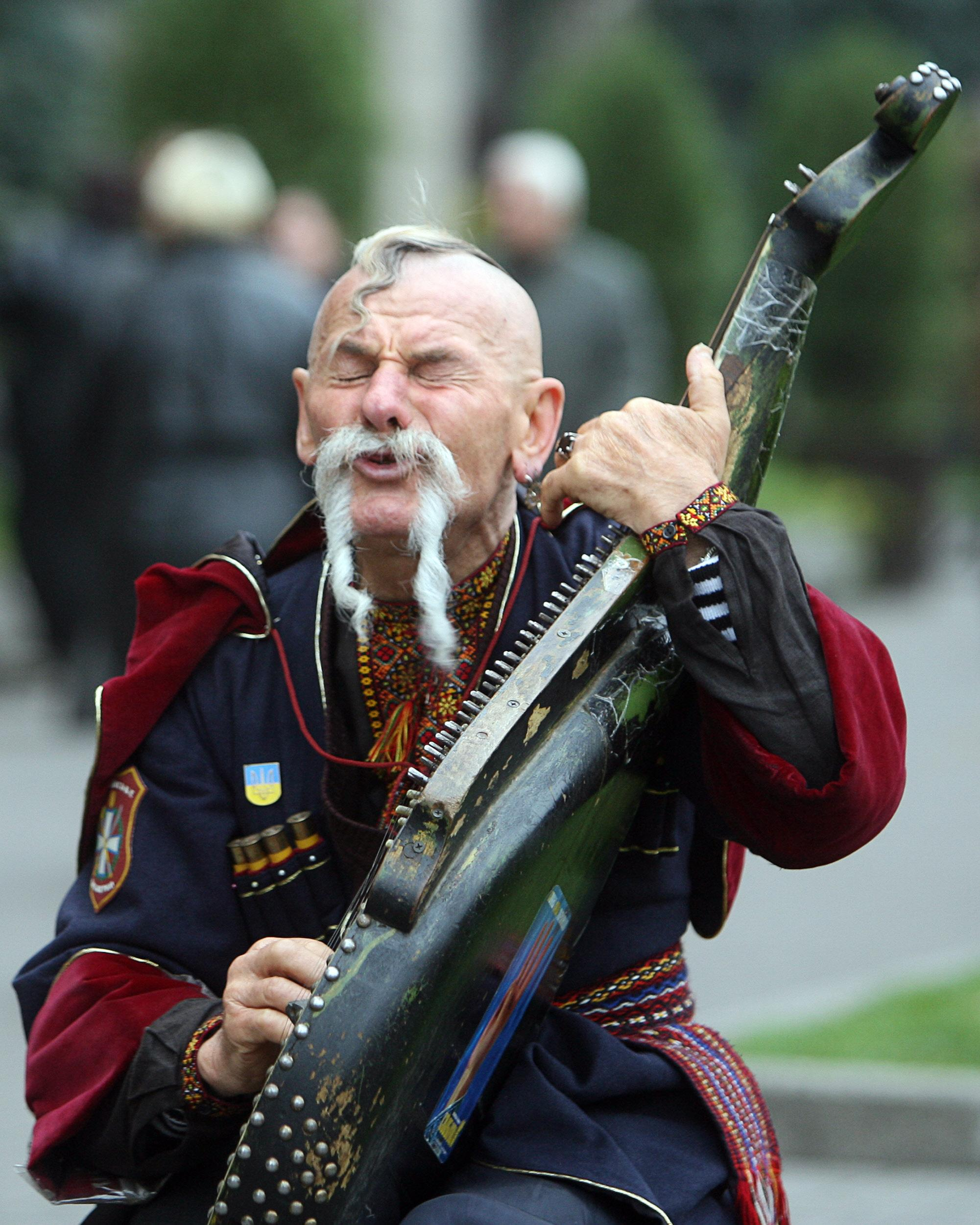 Украинские казаки фото