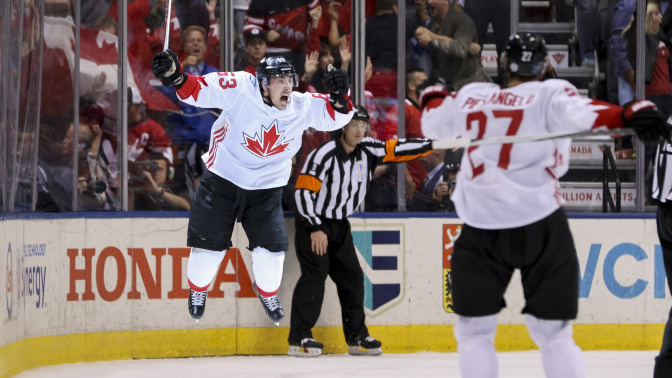 Marchand and Vlasic troll the NHL on Olympics