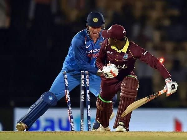 Dhoni is renowned for his lightning-quick glovework behind the wicket