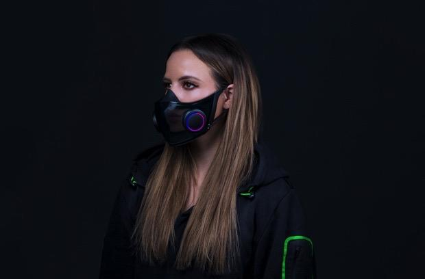 The Morning After: Razer's high-tech face mask concept is going into production