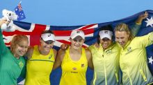 Barty stars as Aussies clinch Fed Cup semi
