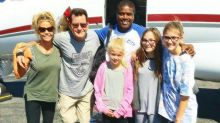 Charlie Sheen Turns 51 With Ex-Wife Denise Richards, His Daughters, and Macklemore