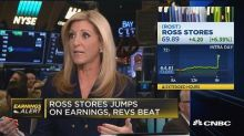 Ross Stores jumps on earnings & revenue beat