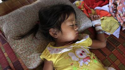 Cambodian child deaths linked to common illness