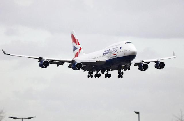 'Drone' hits British Airways plane at Heathrow Airport