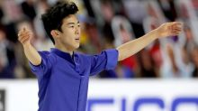 Nathan Chen wins fifth U.S. figure skating title, joins Olympic legend