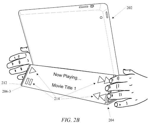 Patent: Apple plant Displays in iPad-Hüllen