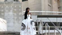 Aishamanne Williams on Her Prom Dress Featuring Erykah Badu, Angela Davis, and Lauryn Hill