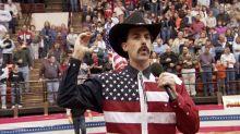 Criador de 'Borat' fará série satirizando os Estados Unidos mais uma vez
