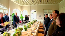 This is what Donald Trump and Kim Jong-un had for their lavish six-course lunch