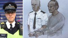 Met officer 'tasered machete-wielding attacker' despite suffering wounds exposing his skull