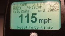 Speeding driver caught doing 115mph 'was desperate for toilet'