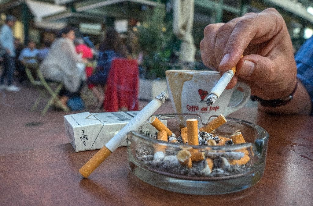 The first attempts to ban smoking in bars and restaurants in Austria date back 13 years, but it remains one of the last European countries where it is still permitted, much to the chagrin of health professionals (AFP Photo/JOE KLAMAR)