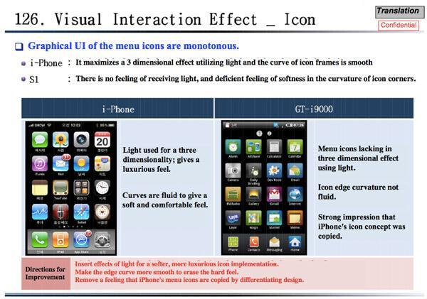 Apple seizes on Samsung internal document as proof of mimicry