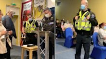 Police break up church service and send worshippers home during Wales 'firebreak' lockdown