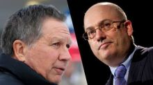 The Wall Street kingpin behind the attack on Kasich's ties to Wall Street