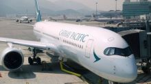 Where's the refund for my upgrade on Cathay Pacific?