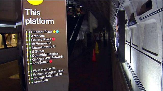 Woman gives birth on metro platform in D.C.