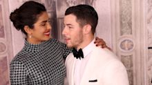 Priyanka Chopra and Nick Jonas Recreated Meghan Markle and Prince Harry's Engagement Pic