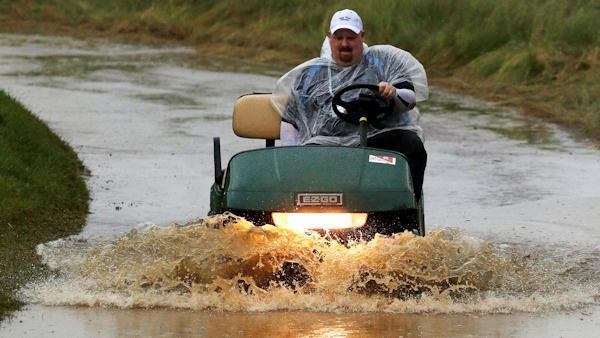 Wet start for U.S. Open week in Ardmore