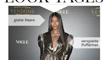 Look des Tages: Naomi Campbell im 80er-Outfit