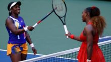 Serena Williams defies predictions to knock Sloane Stephens out of US Open