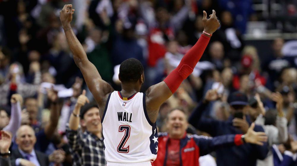 NBA playoffs 2017: Wizards, Rockets, Warriors take commanding 2-0 leads