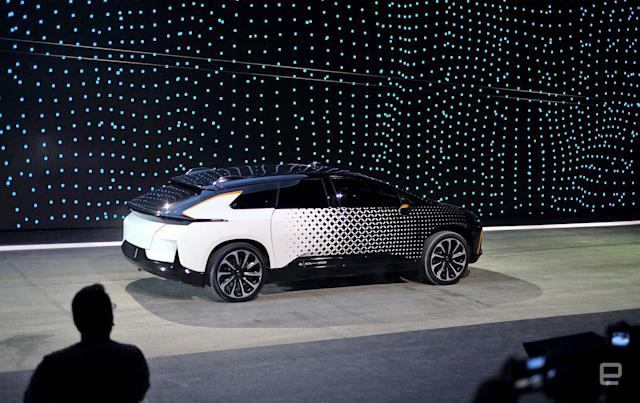 A whirlwind tour of Faraday Future's ambitious new SUV
