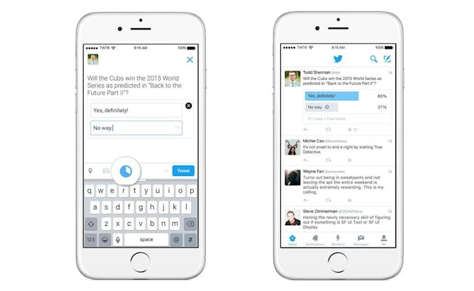 Twitter opens up polls to everyone