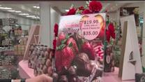 Malley's Chocolates on Valentine's Day